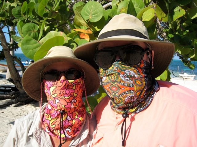 Mr & Mrs Sandford on holiday in Mexico