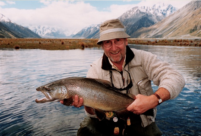NZ Brown Trout 10lbs 4oz