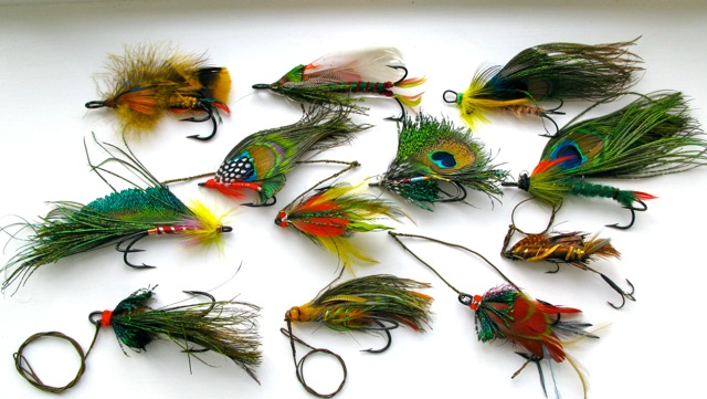 Vintage Pike Flies
