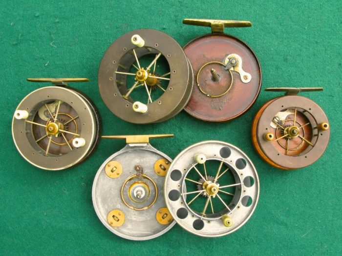Aerial Fishing Reels - Chris Sandford