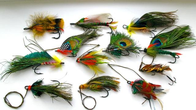 Vintage Pike Flies